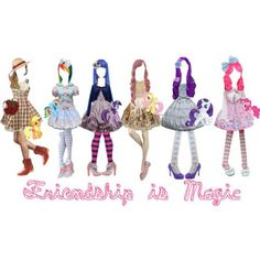I found 'My Little Pony Outfits' on Wish, check it out!