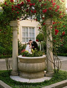 Wedded Bliss at the Lafayette Park Hotel Park Hotel, Hotel Spa, Lafayette Park, Fountain, Bliss, Outdoor Decor, Wedding, Home Decor, Casamento