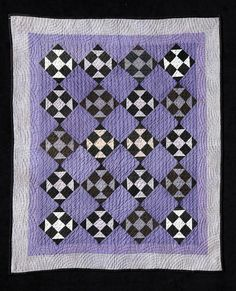 Amish churn dash quilt, 1930's.  Shelly Zegart collection