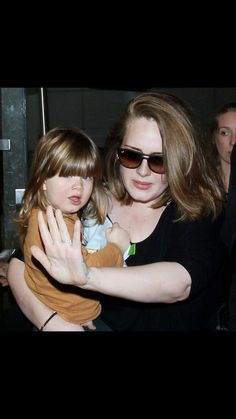 Adele with her baby Angelo!