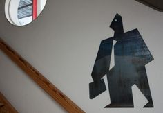 Mesazon | 70x100cm, 5mm iron plate, lazer cut