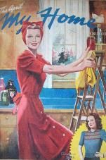 Vintage Chic: Cover Girls: April Retro housewife cleaning her kitchen. Images Vintage, Retro Images, Vintage Love, Vintage Pictures, Vintage Advertisements, Vintage Ads, Vintage Prints, Vintage Posters, Old Magazines