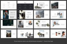 FYLORA - Powerpoint Template by TempLabs on Creative Market