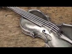 Sterling Silver violin - tutorial - part one - YouTube