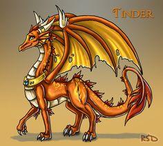 Tinder Firethroat by DragonCid.deviantart.com on @deviantART