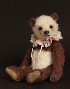 "Lalo - 10"" Panda Humble Crumble Bear by Victoria Allum (december 2015)- www.victoriaallum.co.uk"