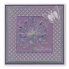x Groovi Plate Groovi Plate™ (GP) Intricate and clever designs have been laser etched with precision into top quality acrylic plates, thereby allowi Paper Cards, Folded Cards, Clarity Card, Parchment Design, Parchment Cards, Butterfly Template, Agapanthus, Artwork Design, Craft Patterns