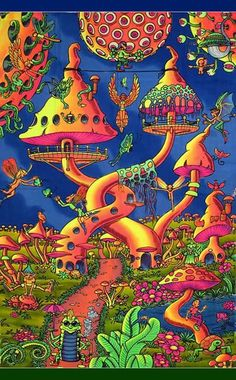 psychedelic illustrations