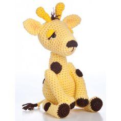 Animal Amigurumi to Crochet Patterns Book Dog Cat Elephant Giraffe Monkey Bunny