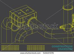 Blueprint brewery blueprintbeer twitter design pinterest drawings of steel structures blueprint of steel structures cover background for your design gray buy this stock vector on shutterstock find other malvernweather Gallery