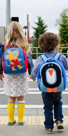 Dabbawalla's kids' backpacks, discovered by The Grommet, are as adorable as their wearers. Free of toxins and made from eco-friendly material that's washable.