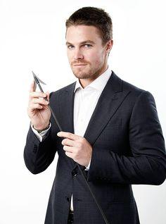 Stephen Amell is Oliver Queen Team Arrow, Arrow Tv, Arrow Cast, Casey Jones, Susanna Thompson, Oliver Queen Arrow, Dc Comics, David Ramsey, Stephen Amell Arrow
