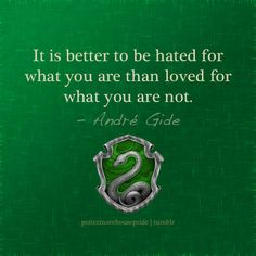 Pottermore House Pride! Slytherin FTW