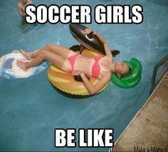 soccer girl problems Google Search #soccerlife #soccerexercises #soccerproblems