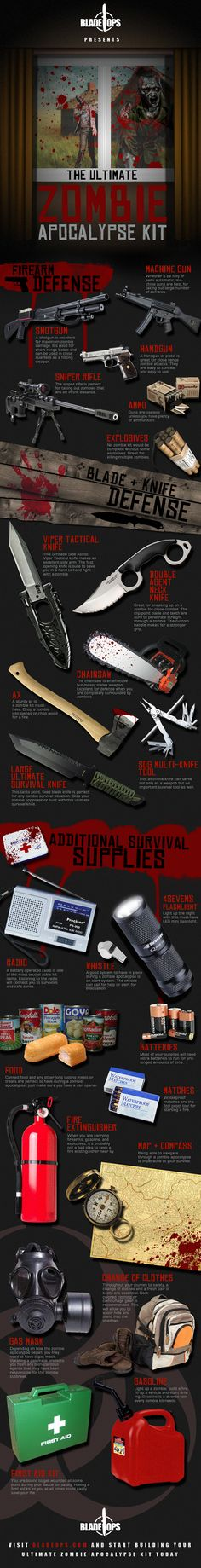 Ya know I love #Zombies! And now I will know how to survive a zombie apocalypse!