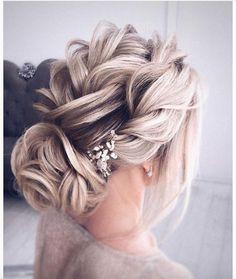 updo braided updo hairstyle ,swept back bridal hairstyle ,updo hairstyles ,wedding hairstyles frisuren haare hair hair long hair short Braided Hairstyles Updo, Braided Updo, Up Hairstyles, Pretty Hairstyles, Messy Updo, Hairstyle Ideas, Vintage Hairstyles, Formal Hairstyles, Evening Hairstyles