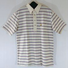 Men's Jack Nicklaus Golden Bear Knit Classic Striped Polo Shirt Size Large | Clothing, Shoes & Accessories, Men's Clothing, Casual Shirts | eBay!