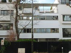Boulogne-Billancourt, villa COOK (Le Corbusier 1927).