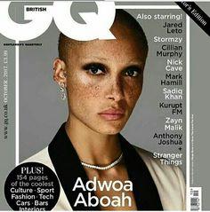 Adwoah Aboah for GQ UK October 2017