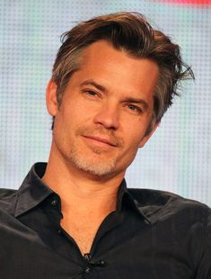Timothy Olyphant is aging really...really...reallllly well.