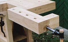 Installation Instructions for Tailvise Hardware Workbench Designs, Woodworking Workbench, Woodworking Projects, Woodworking Tool Cabinet, Installation Instructions, Tool Box, Door Handles, Workshop, Work Benches