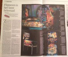 Flipperen is het weer hélemaal (NRC – 14 november 14 November, Home Computer, Pinball, Arcade, Amsterdam, Console, Games, Plays, Gaming