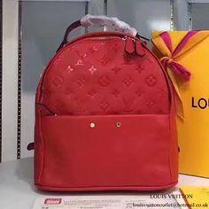 Louis Vuitton M44015 Sorbonne Backpack Monogram Empreinte Leather 45b38beea1467