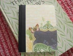 Butterfly Mini  Journal by PaperandPosy on Etsy, $4.00