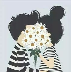 Image via We Heart It https://weheartit.com/entry/144273883/via/4893932 #cute #daisy #flowers #inlove #love #pretty