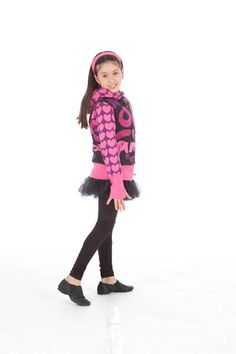 fun, limeapple, kids, cute, hearts, hoodie, pink, printed, clothes