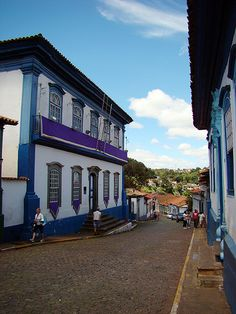 Charles Fonseca: Ladeiras de Sabará-MG. Fotografia