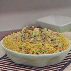 Receita de Salada de Parafuso Especial de Natal