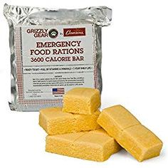 Prepper Food Archives - Emergency Food Bar Rations - Survival Gear: 3600 Calorie Bar of Ready-to-Eat Rations: These ready-to-eat food rations are full of essential vitamins and minerals, and are Best Emergency Food, Emergency Rations, Best Survival Food, Emergency Food Supply, Emergency Preparedness, Survival Gear, Emergency Water, Camping Survival, Emergency Preparation