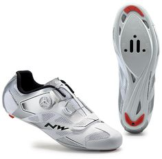 Northwave Sonic 2 Plus Racer Vélo Chaussures blanc/argent schuhgröße:gr. Road Cycling Shoes, Performance Cycle, Sonic, Bike Shoes, Bicycle, Sneakers, Silver, Link, Veil