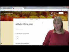 Gör en onlineenkät med Google Docs