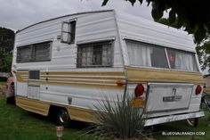 Vintage Travel Trailers From 1970 | 1970 Aristocrat Lo-Liner Vintage Travel Trailer - Blue Oval Ranch Inc.