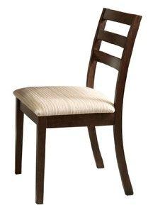ACME 00869 Set of 2 Tacoma Side Chair, Walnut Finish, 35-Inch