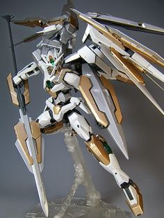 "MG 1/100 Qan [T] Quanta ""Quanta Chan"" Custom Build - Gundam Kits Collection News and Reviews"