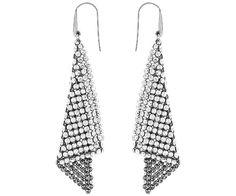 Swarovski Fit Crystal Mesh Earrings