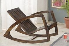 RjKart Solid Sheesham Wood Rocking Chair With Cushions Living Room Furniture Online, Online Furniture Stores, Indian Furniture, Cool Furniture, Furniture Chairs, Wooden Furniture, Chair Design Wooden, Buy Chair, Rocking Chair