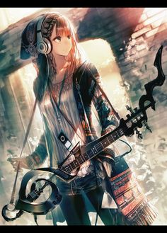 Rock and roll girl  Love this pic