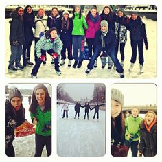 Rideau Canal Skateway awesomeness.  Great friends, great skate, great BeaverTails pastries! Instagram photo by @krissy_berndt (Krissy Berndt)