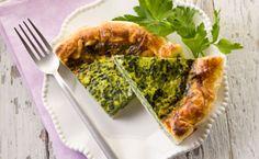 Torta salata veloce di spinaci, ricotta e pomodorini secchi