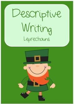 Leprechaun Descriptive WritingA unit focusing on descriptive writing. This unit is great for the month of March and St Patrick's Day as it uses leprechauns as inspiration. It could be also used at any other time of the year as part of a mythical creatures or fairytale theme.This resource includes:* Reading Comprehension & Activities to introduce Descriptive Writing - Larry the Leprechaun*Vivid vocabulary worksheet to keep track of useful words and phrases for the writing task*Leprechauns ... Reading Comprehension Activities, March Month, Vocabulary Worksheets, Leprechaun, Mythical Creatures, St Patricks Day, Larry, Fairytale, Literacy