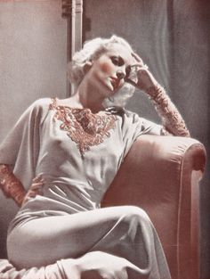 Carole Lombard in silk charmeuse. No excuses-- this is what you can do with it.