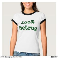 100% Betrug T-Shirt cool trendy unique t-shirt fashion design clothes Monogram T Shirts, Tee Shirts, Tees, Vintage Inspiriert, Country Dance, Black And White T Shirts, Jesus Shirts, Tennis Clothes, T Shirts For Women