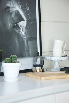 talo markki - modern poster in the kitchen