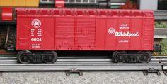 Lionel postwar # 6024-60 RCA Whirlpool boxcar.