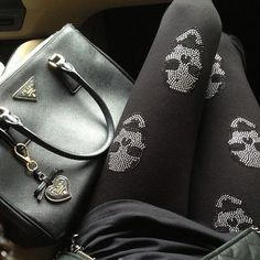 #skull tights