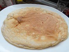 Protein Pancake - Low Carb Pfannkuchen. Wenig Kohlenhydrate nund reichlich Eiweiss.